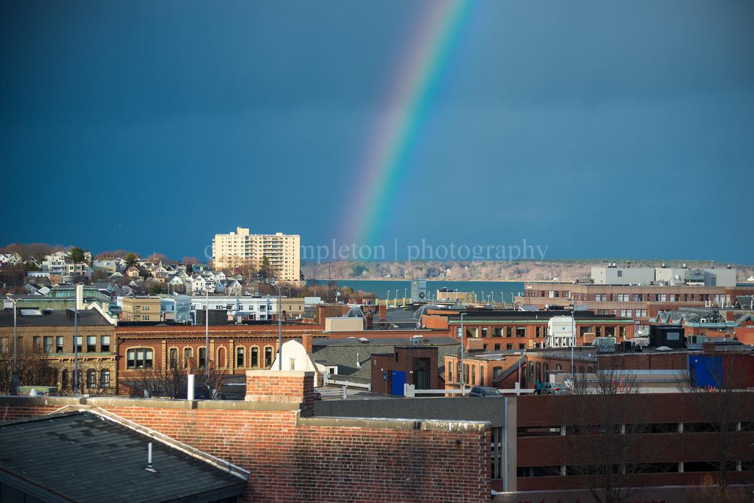 Old Port Rainbow, April 2015
