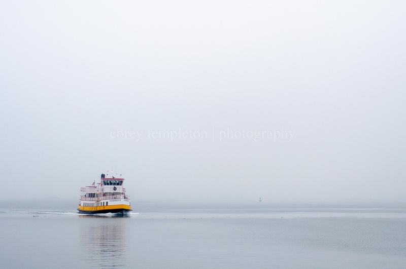 Casco Bay Ferry Portland, Maine USA by Corey Templeton