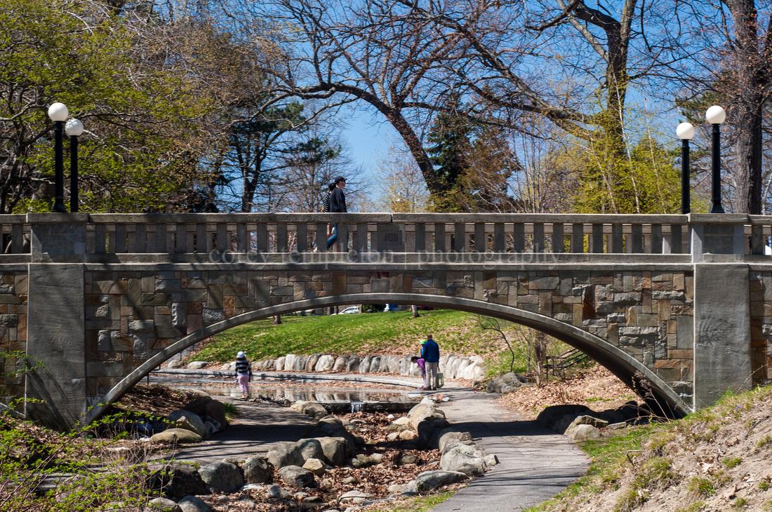 Portland, Maine Deering Oaks Park Spring 2013. By Corey Templeton.