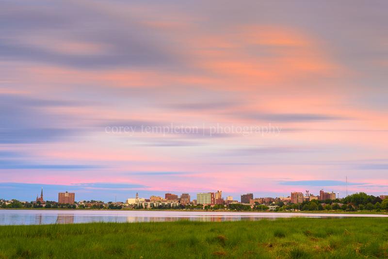 Portland, Maine City Skyline. Summer 2013. Photo by Corey Templeton.