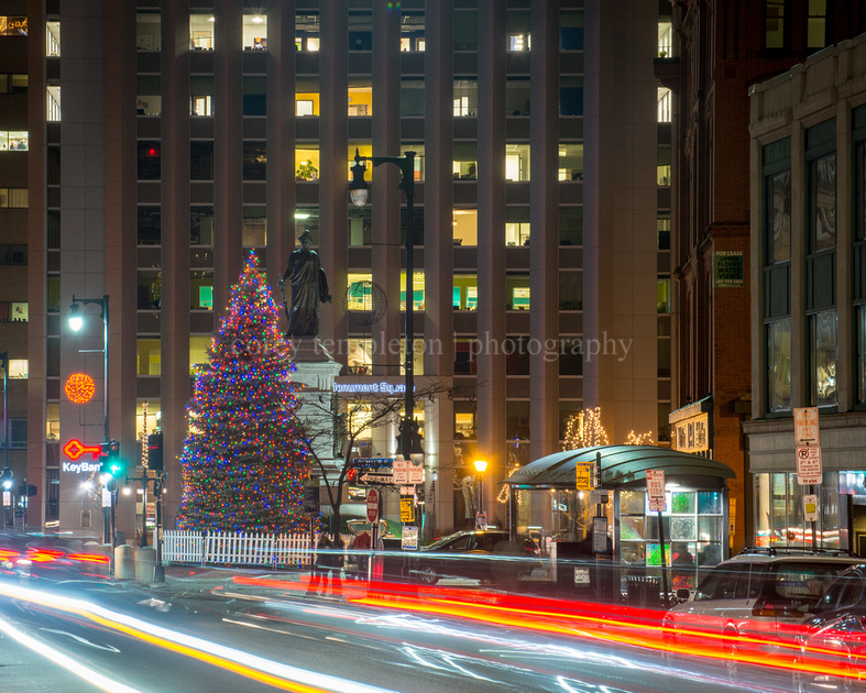 Holiday Season in Monument Square