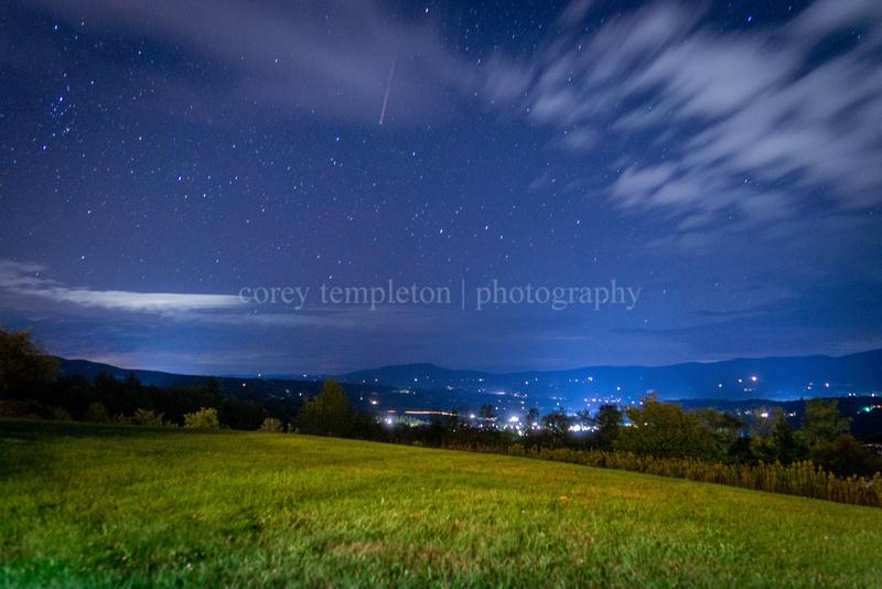 Stargazing in Stowe, Vermont