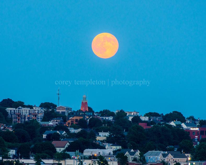 Moon Over Munjoy