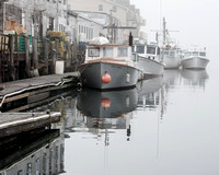Foggy Morning, Custom House Wharf