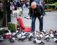 Bird Man in Union Square