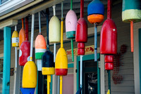Buoys Outside of the Cliff Island Store & Cafe