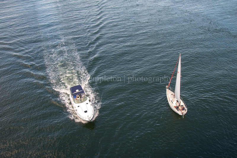 The Tortoise and the Hare in Casco Bay