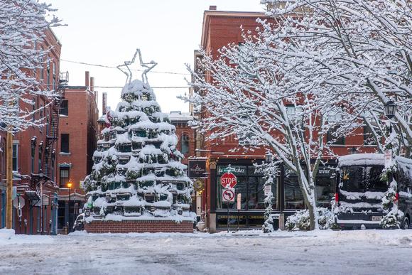 Portland Maine Christmas.Corey Templeton Photography Portland Maine All