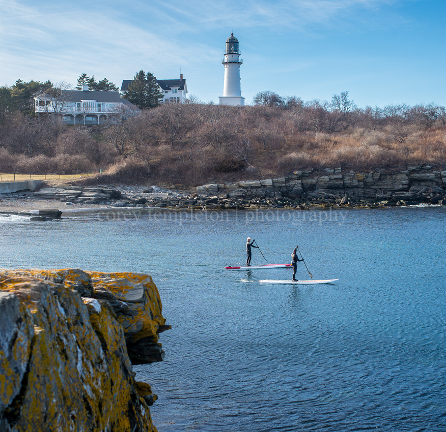 Stand Up Paddle Boarding at Two Lights