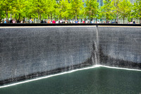 9/11 Memorial Fountain, North Pool